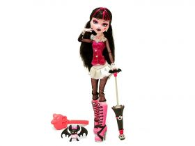 Кукла Дракулаура (Draculaura), базовая с питомцем, MONSTER HIGH