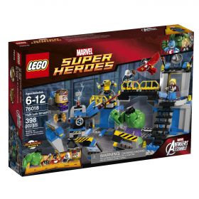 Lego Super Heroes 76018 Халк: разгром лаборатории #
