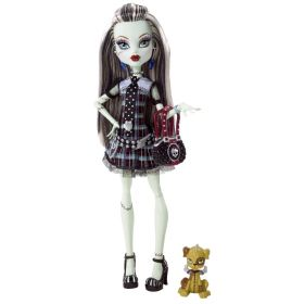Кукла Фрэнки Штейн (Frankie Stein), базовая с питомцем, MONSTER HIGH
